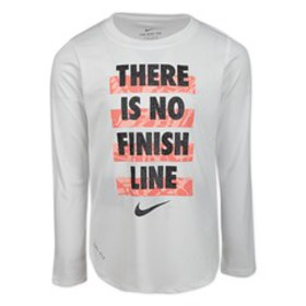 Nike Girls 4-6x Dri-FIT Long Sleeve 'There Is No F