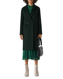 Whistles - Double-Breasted Long Coat