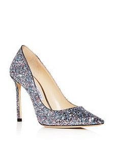Jimmy Choo - Women's Romy 100 Glitter Pointed-Toe
