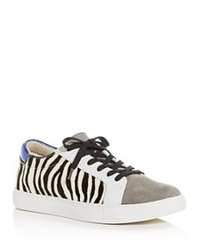 Kenneth Cole - Women's Kam Animal-Print Lace Up Sn