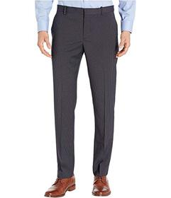 Perry Ellis Slim Fit Micro Check Stretch Pants