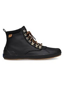 Keds Scout Waterproof Lace-Up Boots BLACK