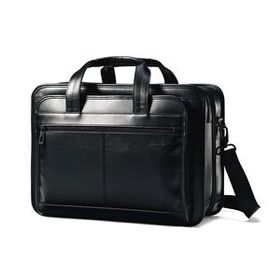 Samsonite Leather Expandable Business Case in the