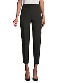 Anne Klein Pressed Cropped Pants ANNE BLACK