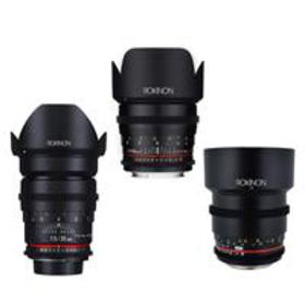 Rokinon Cine DS Portrait Lens Bundle 35mm T1.5, 50