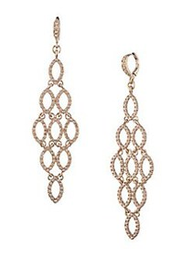 Givenchy Goldtone Chandelier Earrings GOLD