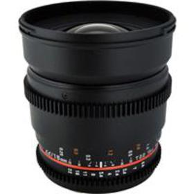 Rokinon 16mm T2.2 Wide Angle Cine Lens for Micro F
