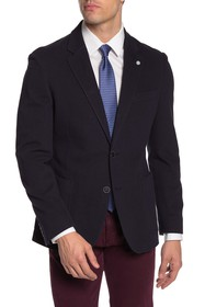 Nautica Solid Textured Sport Coat