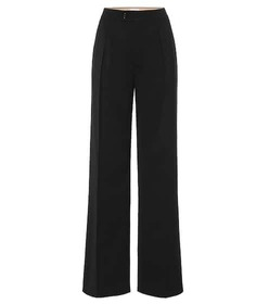 Chloé Stretch wool wide-leg pants