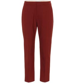 Chloé Stretch-wool pants