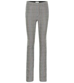 Chloé Checked wool pants