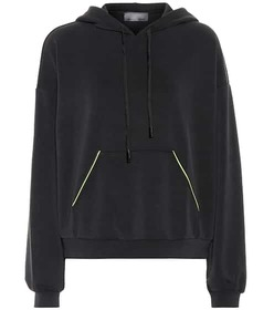 Lanston Sport Neon Piped hoodie