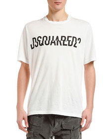 Dsquared2 Men's Spliced Logo T-Shirt