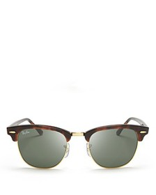 Ray-Ban - Unisex Classic Clubmaster Sunglasses, 51
