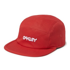 Oakley 5 Panel Cotton Hat - Red Line