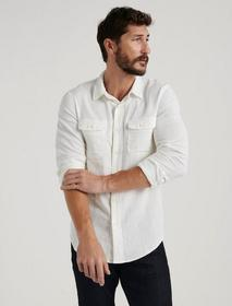 Lucky Brand Double Weave Shirt