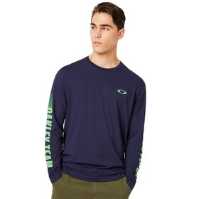 Oakley Always First Long Sleeve Tee - Strong Viole