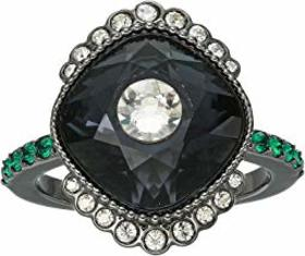 Swarovski Swarovski - Black Baroque Ring. Color Da