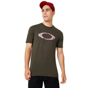 Oakley Ellipse USA Pattern Tee - Blackout