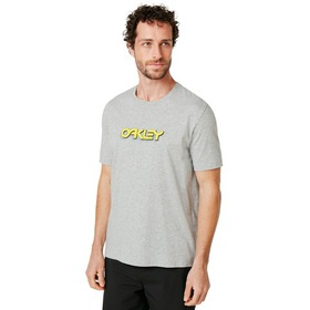 Oakley Oakley Tridimensional Tee - New Granite Hea