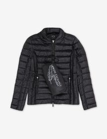 Armani PADDED JACKET WITH DUCK DOWN