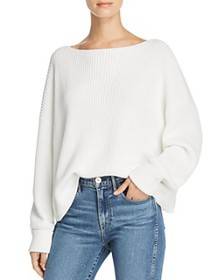 FRENCH CONNECTION - Millie Mozart Knits Cotton Boa