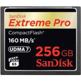 SanDisk 256GB Extreme PRO Compact Flash Memory Car