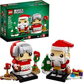 LEGO BrickHeadz Mr. & Mrs. Claus 40274 Building Ki