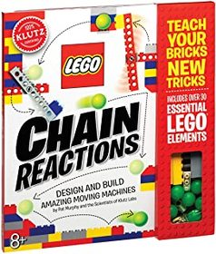 Klutz Lego Chain Reactions Science & Building Kit,