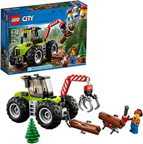 LEGO City Forest Tractor 60181 Building Kit (174 P