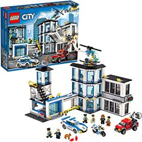 LEGO City Police Station 60141 Building Kit with C