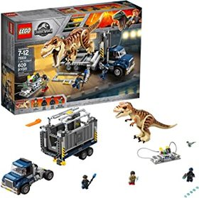 LEGO Jurassic World T. rex Transport 75933 Dinosau