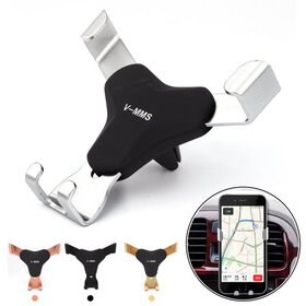 Universal Auto-Clamping Gravity Car Air Vent Holde