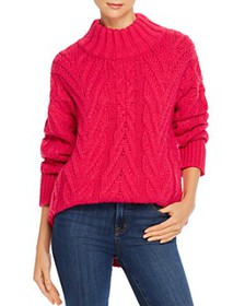 FRENCH CONNECTION - Nissa Chunky Cable-Knit Sweate