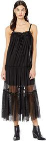 Free People Night Out Mesh Maxi