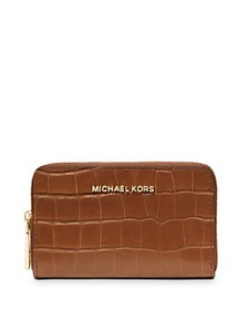 MICHAEL Michael Kors - Jet Set Small Croc-Embossed