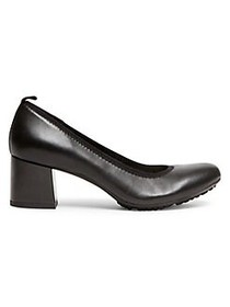 Anne Klein Global Leather Pumps BLACK