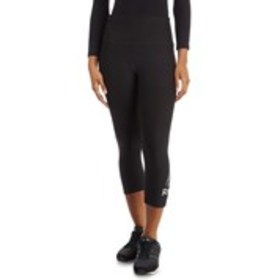 Microfiber Active Capri Logo Leggings