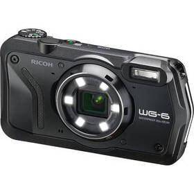 Ricoh WG-6 Digital Camera (Black)