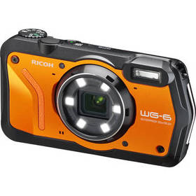 Ricoh WG-6 Digital Camera (Orange)