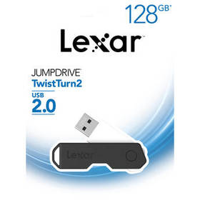 Lexar 128GB JumpDrive TwistTurn2 USB Flash Drive (