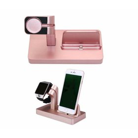 Wireless Charger 2-in-1 Watch Charger Holder 7.5W