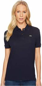 Lacoste Short Sleeve Two-Button Classic Fit Pique