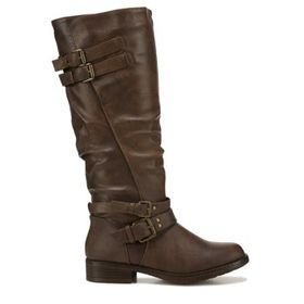 XOXO Women's Morton Tall Wide Calf Riding Boot