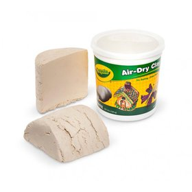 Crayola Air Dry Clay Bucket, No Bake Clay for Kids