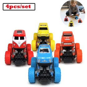 Car Toys Trucks with Big Wheels Pull Back Cars Gre