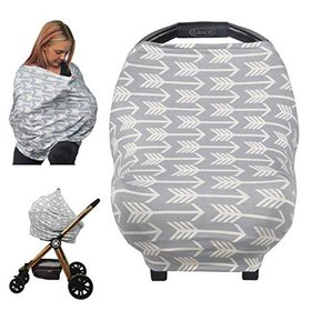 Nursing Cover for Baby Breastfeeding, Car Seat Can