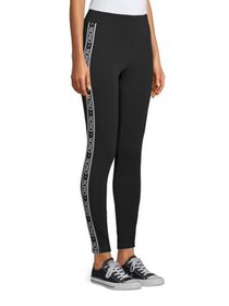 Juniors' XOXO Side Stripe Leggings
