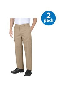 Genuine Dickies Big Men's Flat Front Cargo Pant, 2