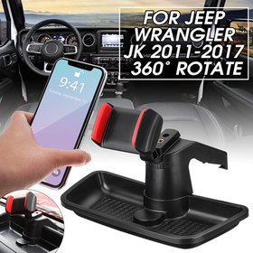 Cell Phone Holder Dash Storage Organizer For Jeep
